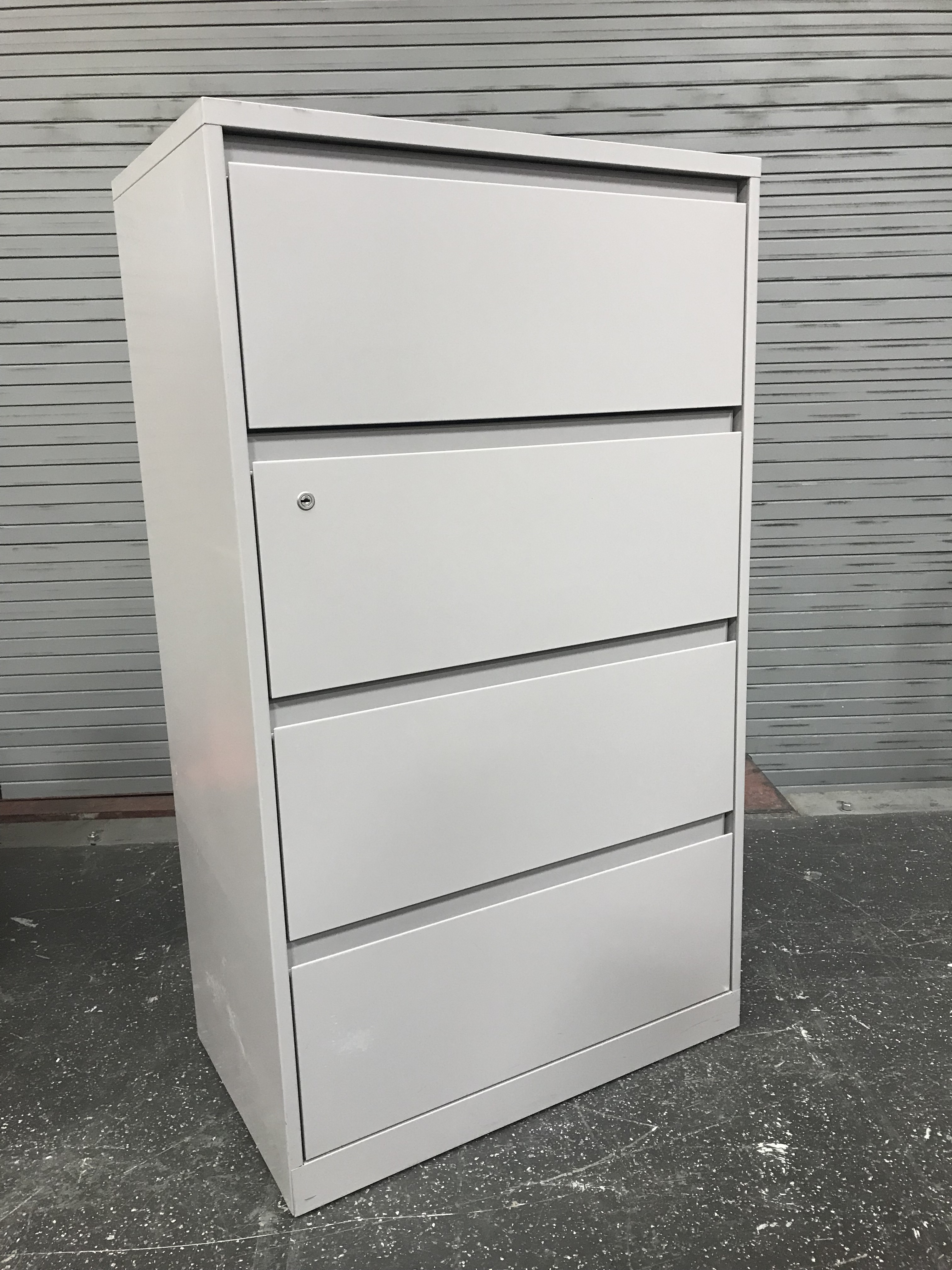 4 Drawer Lateral Filing Storage Cabinet Driftwood